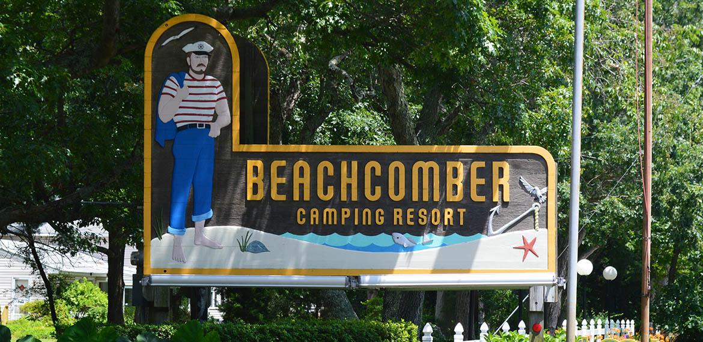 Beachcomber Camping Resort in Cape May, NJ
