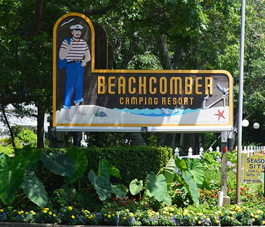 Beachcomber Camping Resort in Cape May, NJ