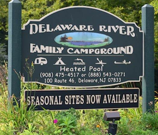 Delaware River Family Campground, Columbia, NJ