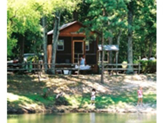 Cabins are a great way to enjoy camping