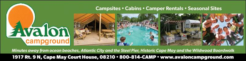 Avalon Campground, your complete camping resort at the Jersey Shore