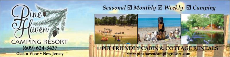 Pine Haven Camping Resort, Ocean View, NJ. Situated among acres of pine and oak woods, Pine Haven is the premier family vacation destination at the South Jersey Shore. We specialize in Seasonal Vacation Sites and Luxury Cabin and Cottage Rentals which offer an exciting and amazingly affordable alternative to a hotel room.