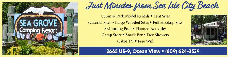 Nestled in the heart of Cape May County, Sea Grove Camping Resort welcomes you to camping at nature's best.
